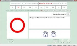 software di simulazione per l'esame teorico della patente e patentino