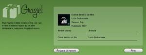 Regali virtuali con iTunes
