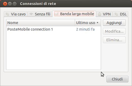 gestione connessioni mobili