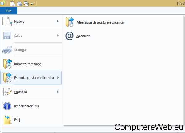 how to backup windows live mail