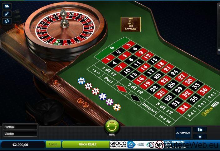 Programma per calcolare i numeri della roulette should i play live or online poker