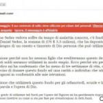 Donazione Anne Sedes l'Email Truffa per Rubare Dati Personali
