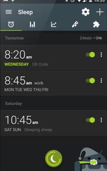 App Android per il Fintess e il Sonno Gratis