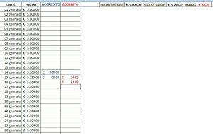 Excel (L17): Calcolare Giacenza Media Annua su Conto Corrente/Libretto