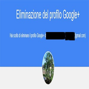 Come Eliminare Account Google Plus