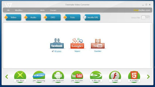 Freemake Video Converter Convertitore Audio Video