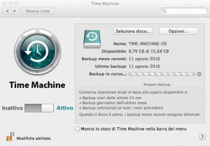 Time Machine: Come Fare Backup Automatico su Mac