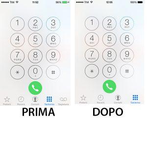 Come Rimuovere Tasto Segreteria da iPhone 4S (iOS 7)