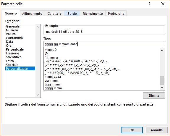 Excel (L19): Gestione Cella nel Formato Data