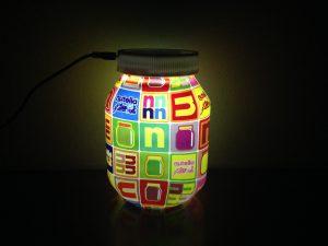 Lampada Barattolo Nutella Concorso : Recensione lampada premio certo nutella computer e web