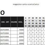 Excel (L22): Gestione magazzino, carico e scarico merce