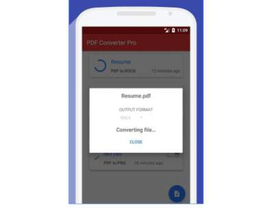 how to open docx file in android