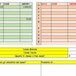 Excel (L31): come creare un Kakebo, il libro dei conti di casa