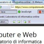 K-Melon browser leggero, sicuro e portatile su pen drive