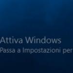 Cosa succede se Windows 10 non è attivo?