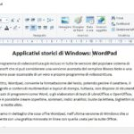 Wordpad è la versione essenziale di Word?